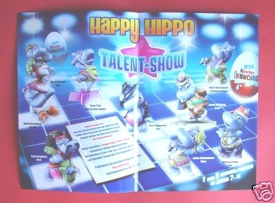 neue serie happy hippo talent show archiv ferrero ei stammtisch. Black Bedroom Furniture Sets. Home Design Ideas